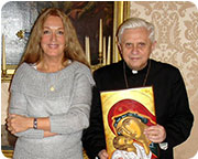Vassula-and-the-Pope