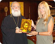 Vassula_and_the_Patriarch
