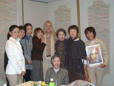 講演会の後、東京の祈りの会とそのほかの参加者の方たちとともに